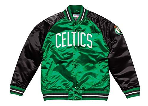 Mitchell & Ness Boston Celtics NBA Tough Season' Retro Satin Jacket Men's (Celtics Boston Snap)