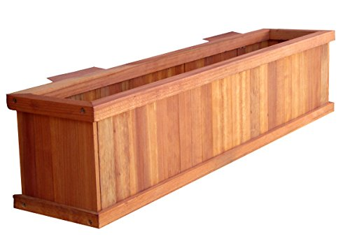 Best Redwood WPBB-08H08H48B4E1905 Window Planter Boxes, 8.5