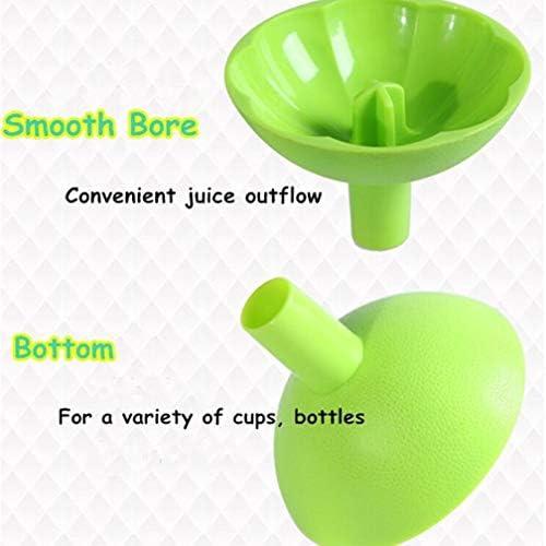 Exprimidor manual de cítricos de plástico ACC, diseñado para apretar naranjas, pomelo, limones y limas