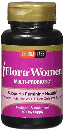 Sedona Labs Iflora Probiotic for Women Capsules, 30 count
