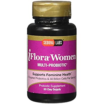 Sedona Labs Iflora Probiotic for Women Capsules, 60 count