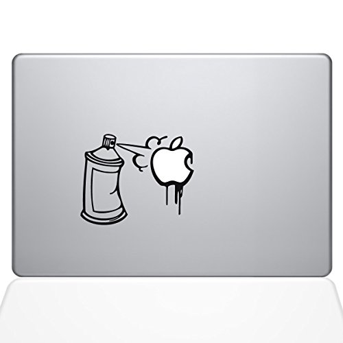 The Decal Guru Graffiti Apple Spray Can Decal Vinyl Sticker, 15