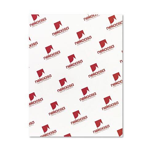 o Nekoosa o - Digital Carbonless Paper, Straight, Letter, Three Colors, 2500 Sheets per Carton