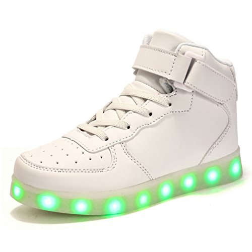 White Led Light Up Shoes in US - 8