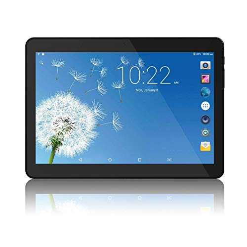 Wecool 10 inch Tablet Android Go 8.1 [GMS Certified], 10.1 inch Tablet PC 5G/2.4G WiFi Tab with Dual Cameras and TF Card Slot, 16GB, Bluetooth, GPS, OTG