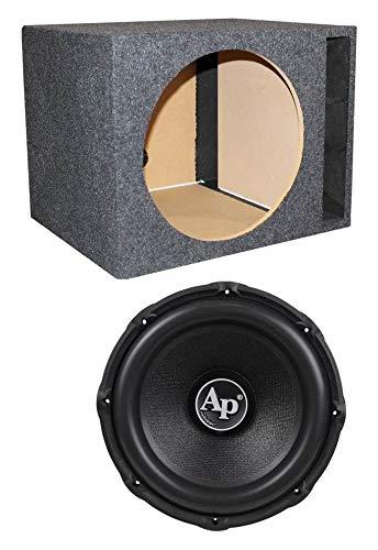 "Audiopipe TXX-BD3-15 15"" 2400W Car Audio Subwoofer TXXBD315 + Vented Sub Box"