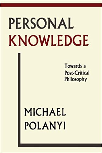 POLANYI PERSONAL KNOWLEDGE EBOOK DOWNLOAD