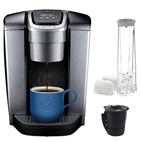 Keurig K Elite with Extra Filter coffee-machine, One Size, Brushed Silver (Best Keurig Style Coffee Maker)