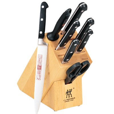 Pro 7 Piece Block - Zwilling J.A. Henckels Twin Pro S 9-Piece Knife Set with Block