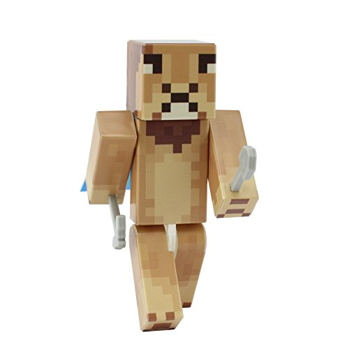 Minecraft Costume Mod Popularmmos (Fluffy Lion Action Figure Toy, 4 Inch Custom Series Figurines by EnderToys)