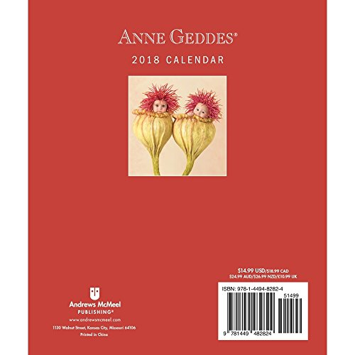 Anne Geddes 2018 Monthly/Weekly Planner Calendar: Timeless