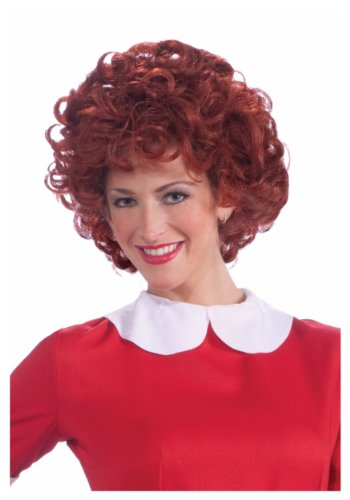 Forum Novelties Women's Orphan Annie Costume Wig, Red, One Size (Forum Novelties Wig)