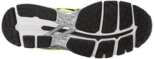 Black ASICS GEL Yellow Silver Running Shoe Kayano Flash 22 Men's 8q18C6