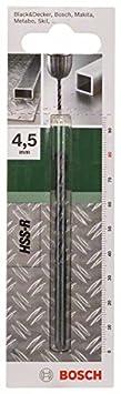 Bosch 2609255020 Foret /à m/étaux lamin/é HSS-R DIN 338 Longueur 133 mm Diam/ètre 10 mm