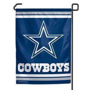 WinCraft NFL Dallas Cowboys WCR08366013 Garden Flag, 12.5'' x 18''