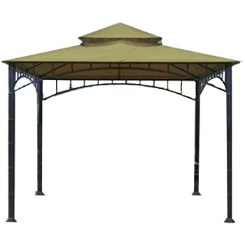 Replacement Canopy for Target Madaga Gazebo - RipLock 350 - SAGE  sc 1 st  Amazon.com : 10x10 gazebo replacement canopy with netting - memphite.com