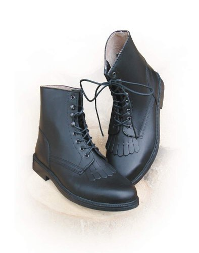 Can Hobo Can Black boot lace FwnAqfwZCx
