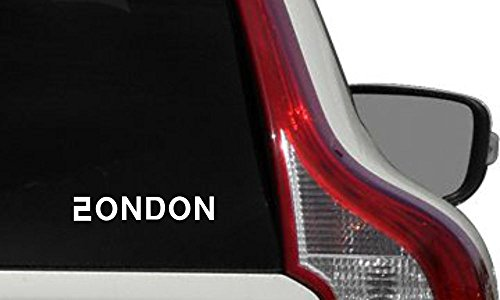 Text London Korean Character Alphabet Mix Car Die Cut Vinyl Decal Bumper Sticker for Car Truck Auto Windshield Wall Window Ipad Tablet Macbook Laptop Computer Home Custom and More - Shopping Ontario Online