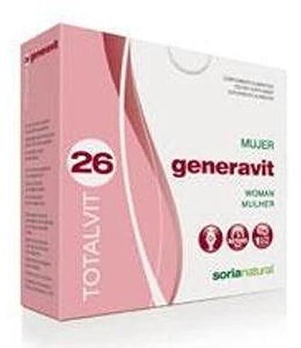 Soria Natural Totalvit 26 Generavit Combinación de Multivitaminas y Minerales - 28 Tabletas