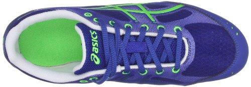 Asics Hyper Es - Zapatillas Unisex niños Blue/Neon Green/White