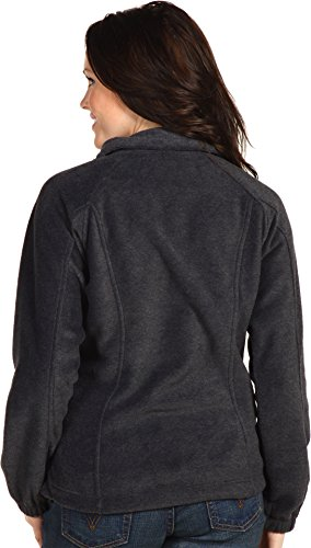 Columbia Women's Benton Springs Classic Fit Full Zip Soft Fleece Jacket, charcoal heather, L by Columbia (Image #2)