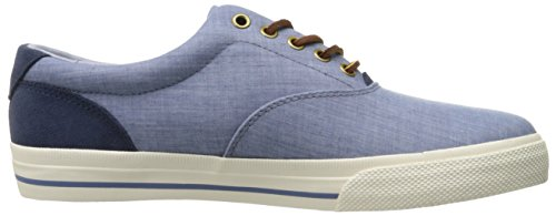 Ralph Lauren Mens Vaughn Canvas Trainers Blau