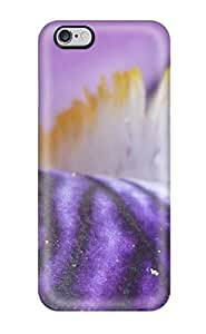 DanielFletcher UUQQwuk6180JwLJV Case Cover Iphone 6 Plus Protective Case Funky Violet Abstract