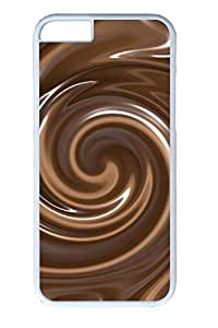 Aromatic Chocolate Slim Soft Cover for iPhone 6 Plus Case ( 5.5 inch ) PC White Cases in GUO Shop