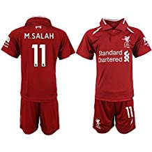 2018/19 New Liverpool M.Salah Kid's Soccer Jersey