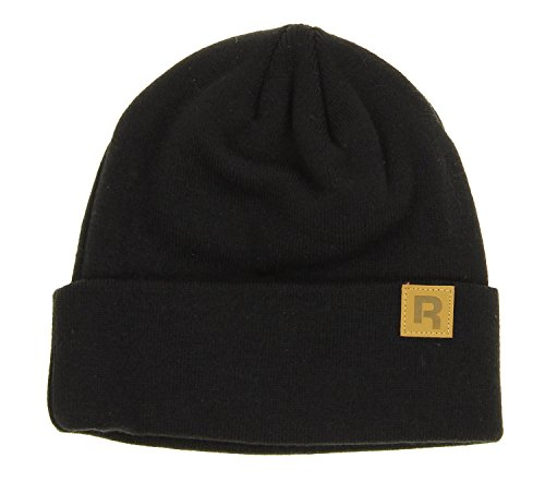 Reebok Adult Cuffed Knit Hat, Color Options (Black) ()