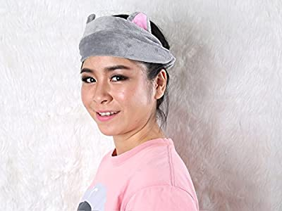 Lovely Kitten ears beauty tool headband (Grey)