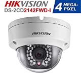 Hikvision DS-2CD2142FWD-I 4MP WDR Fixed HD Network IP Dome Camera 4mm Lens