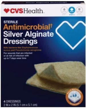 Sterile Antimicrobial Silver Alginate Dressings 2