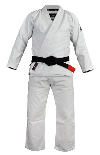 (Fuji Summerweight BJJ Uniform, White, A3)