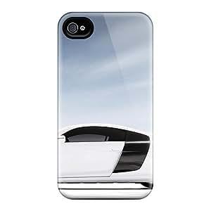HFgWVzv2637MOhsR Audi R8 V10 2012 Car Awesome High Quality Iphone 4/4s Case Skin