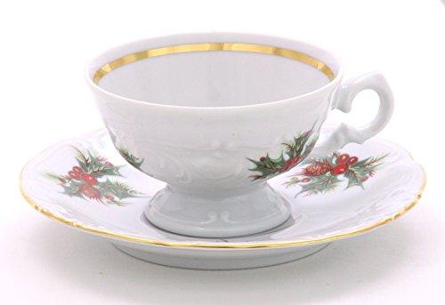 Wawel Tea with Grace Christmas Berry Fine China Tea Set for Children by Wawel (Image #2)