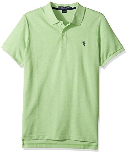 Solid Pique Knit Polo - 7