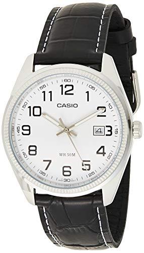 Casio Enticer Men Analog White Dial Men #39;s Watch   MTP 1302L 7BVDF A490