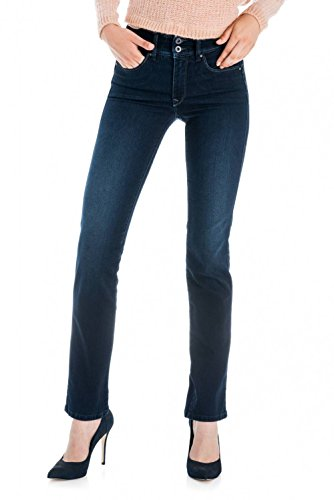In Slim Glänzend Salsa Push Fit Hose Blau Secret