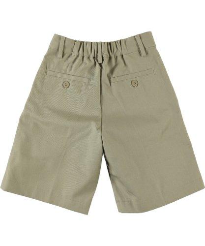 Universal School Uniform Khaki Shorts (Universal Little Unisex' Basic Pleated Shorts - khaki, 4t)