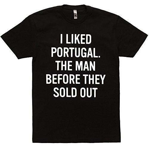 Portugal. The Man I Liked Before They Sold Out Adult T-Shirt - Black - E Portugal