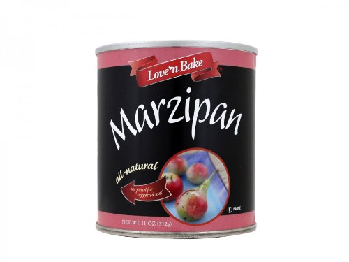Love N Bake Paste, Marzipan, 11 Ounce