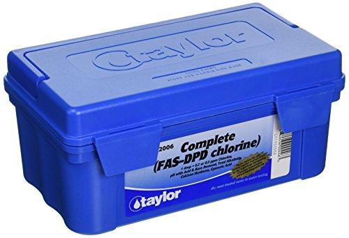 Taylor Technologies Inc K 2006 Test Kit Comp Chlorine Fas