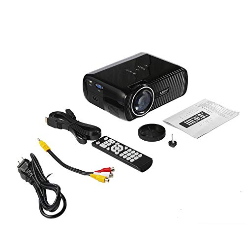 LmqhGzuqume LESHP Proyector de Video LED Multimedia 1080P HD ...