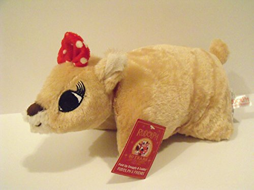 Rudolph the Red Nosed Reindeer Movie Plush Character: Clarice Small Pillow Pet by Dan Dee