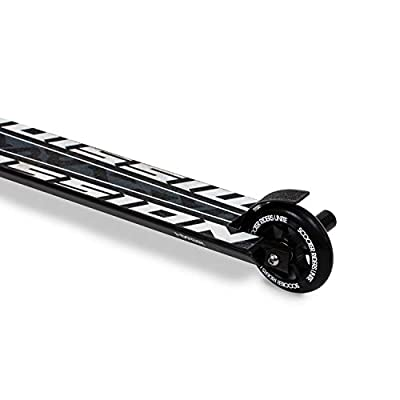 Riprail Mission Stunt Scooter Finished in Black/Blue with Alloy Deck, Alloy Core Wheels, ABEC-9 Bearings and 2 Pegs: Sports & Outdoors