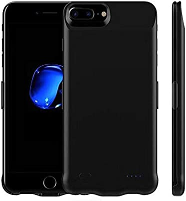 iPhone 7 Battery Case Portable Power Bank 5200mAh Rechargeable Extended Ultra Thin Battery Charging Case for iPhone 7-4.7 inch