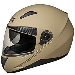 Studds SHIFTER Full Face Helmet with Tinted Visor (Desert Storm, XL)