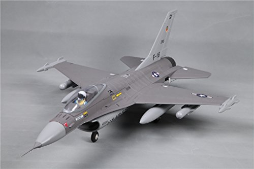 Foam Edf Rc Jet (Rochobby 64mm F-16 V2 Falcon Ducted Fan EDF Grey RC Airplane Jet PNP (No Radio, battery, charger))