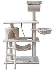i.Pet 141cm Cat Scratching Post - Beige